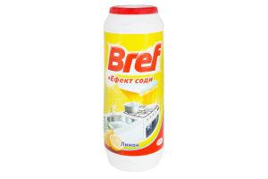 Засіб Bref д/сухої чистки Лимон+сода 500г x20
