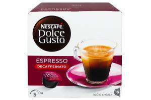 Кава Nescafe Dolce Gusto Decaffeinato 16*6г х3