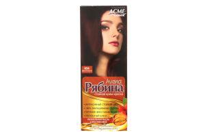Крем-краска для волос Рябина Дикая вишня №034 Acme Color