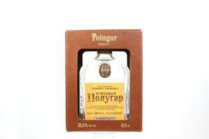 Напій Полугар Ячмінний спиртовий 38,5% 0,615л(короб) х2