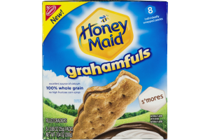 Nabisco Honey Maid Grahamfuls S'mores Filled Crackers - 8 CT