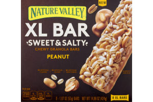 Nature Valley XL Bar Sweet & Salty Chewy Granola Bars Peanut - 8 CT