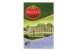 Чай зеленый байховый китайский крупнолистовой с мятой Hyleys к/у 100г