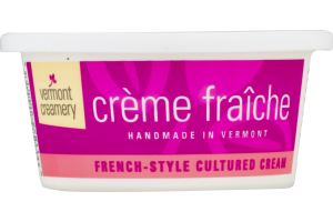 Vermont Creamery Creme Fraiche French-Style Cultured Cream