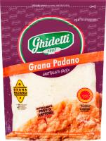 Cир 45% тертий Grana Padano Ghidetti д/п 100г