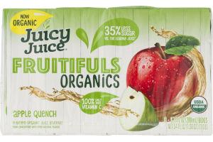 Juicy Juice Fruitifuls Juice Boxes Apple Quench - 8 CT