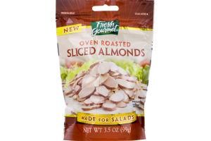Fresh Gourmet Sliced Almonds Oven Roasted