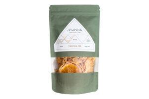 Чипсы фруктовые сыроедческие Tropical Mix Manna д/п 50г