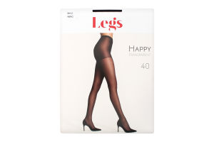 Колготки Happy Legs 40den 1/2 Nero