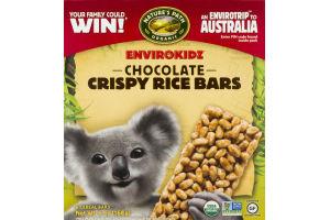 Nature's Path Organic Envirokidz Crispy Rice Bars Chocolate - 6 CT