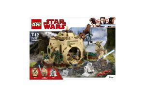 Конструктор Yoda's Hut (Хатина Йоди)75208