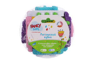 Іграшка для дітей від 12міс №KUB6 Логічний кубик Fancy baby 1шт