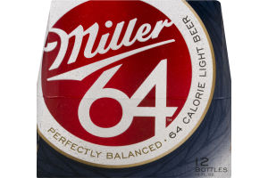 Miller 64 Light Beer - 12 PK