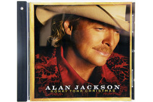 Alan Jackson Honky Tonk Christmas CD