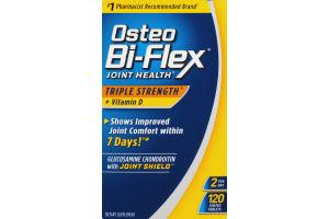 Osteo Bi-Flex Joint Health Triple Strength Tablets - 120 CT