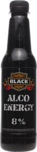 Напій слабоалкогольний 0.33л 8% сильногазований Extra Alco Black п/пл