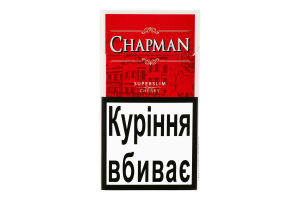 Сигареты Chapman Superslim Sweet Cherry