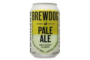 Пиво BrewDog Pale Ale светлое ж/б