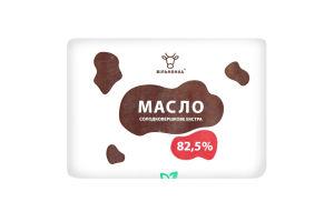 Масло 82.5% сладкосливочное Экстра Вільнянка м/у 200г