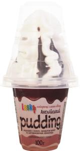 """Морозиво """"Англійський пудінг"""" шоколад у пласт.стак.100г"""