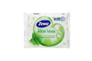 Туалетний папір Zewa (вологий) Moist Toipa (42) Aloe Vera