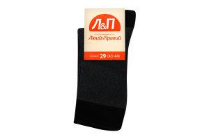 Шкарпетки чоловічі Лівий&Правий 29 чорний