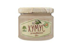 Хумус с оливками Інша їжа c/б 270г