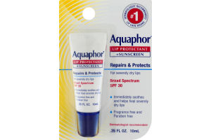 Aquaphor Lip Protection + Sunscreen