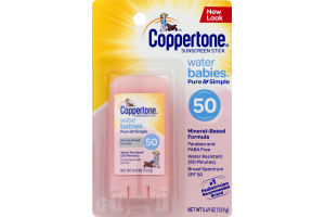 Coppertone Sunscreen Stick Water Babies SPF 50