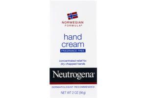 Neutrogena Norwegian Formula Fragrance Free Hand Cream