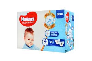 Подгузники Huggies Ultra Comfort Disney Box 4 для мальчиков, 96 шт.