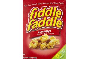 Fiddle Faddle Caramel Popcorn With Peanuts
