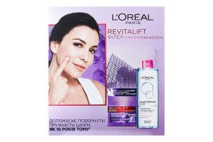 Набір косметичний Крем денний+Вода міцелярна Revitalift Revitalift Філер+гіалуронова кислота L'Oreal Paris 1шт