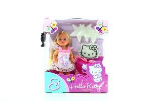Іграшка Simba Лялька Еві Hello Kitty Піжамна вечірка