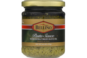 Bellino Pesto Sauce with Extra Virgin Olive Oil