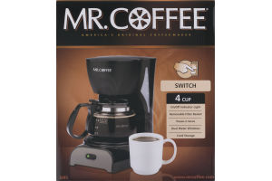 Mr. Coffee America's Original Coffeemaker 4 Cup