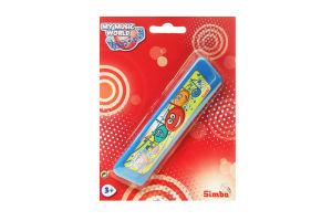 Игрушка для детей от 3лет Губная гармошка My music world Simba 1шт