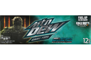 Mtn Dew Game Fuel Berry Lime - 12 PK