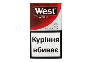 Сигареты с фильтром West Red Up 20шт