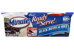 Minute Ready To Serve Black Beans & Rice - 2 CT
