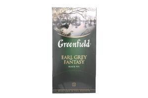 Чай чорний Earl Grey Fantasy Greenfield пакет з/я 2г*25шт