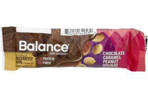 Balance Nutrition Bar Chocolate Caramel Peanut Nougat - 2 CT