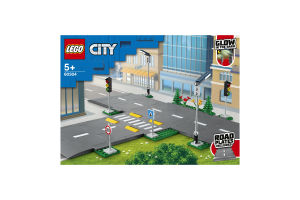 Конструктор для детей от 5лет №60304 Дорожные плиты City Lego 1шт