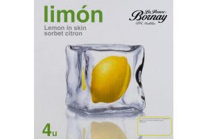 Nasto's Sorbet Lemon Limon - 4 CT