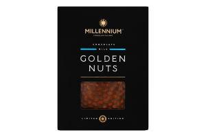 Шоколад молочный с цельным фундуком Golden Nuts Millennium к/у 1.1кг