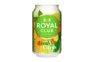 Напиток Royal Club Свежий Цитрус б/алк газ