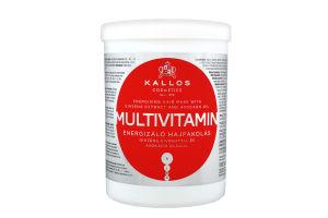 Маска для волос Multivitamin KJMN Kallos 1000мл