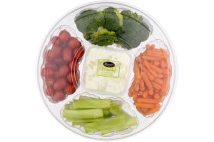 Freshline Vegetable Tray with Ranch