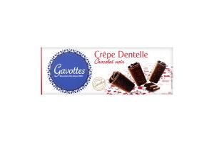 Вафли Gavоttes в черном шоколаде