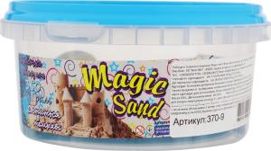 Набір для творчості блакитного кольору що світиться у темряві для дітей від 3років №370-9 Magic Sand Strateg 1шт